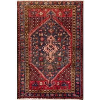 "Vintage Persian Rug, 4'6"" X 7'"