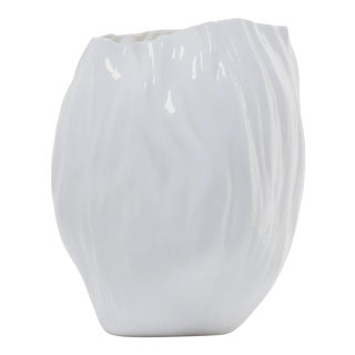 """""""Shui"""" Porcelain Vase by Xie Dong For Sale"""