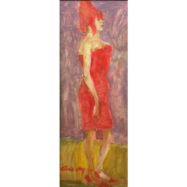 "Fry Contemporary Figure Painting ""Beehive"" For Sale"