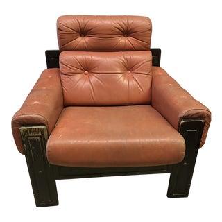 1970s Vintage Scandinavian Mid-Century Modern Ekornes Chair For Sale