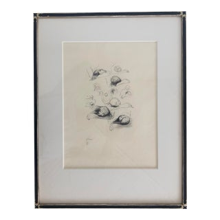 Henry Moore Lullaby Sketch For Sale