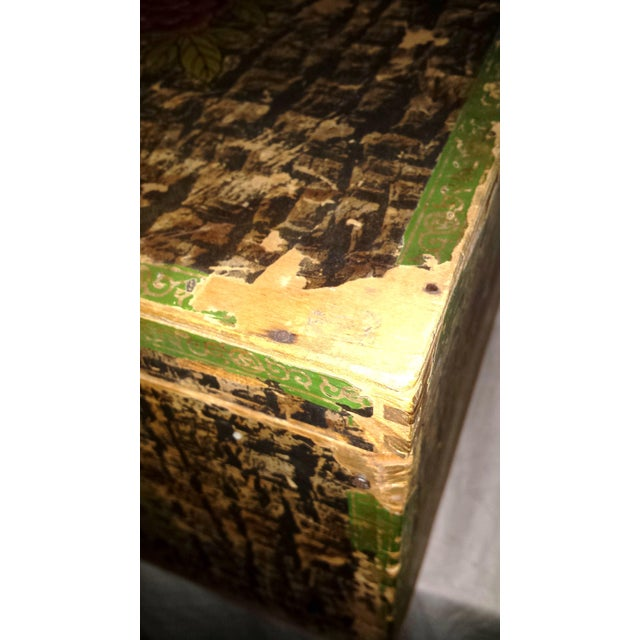 Lg. Victorian Fruit and Nut Delivery Box For Sale - Image 9 of 11