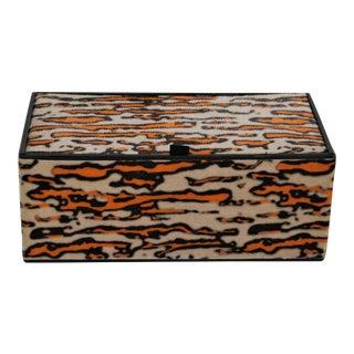 Animal Print Faberge Perfume Gift Box For Sale