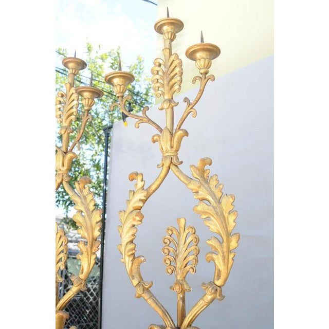 Grand Pair of 19th Century Giltwood Porta Palma For Sale - Image 9 of 10