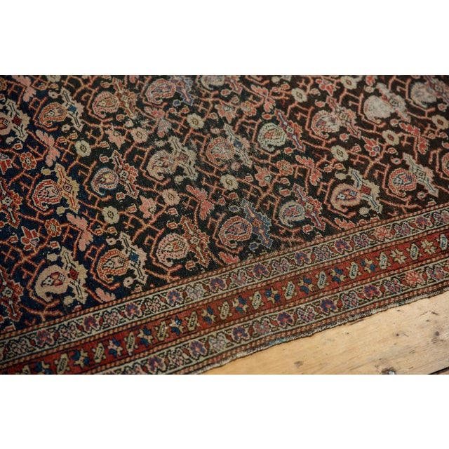 "Boho Chic Antique Fine Malayer Rug - 4'1"" X 6'4"" For Sale - Image 3 of 13"