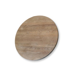 """40"""" Round Wood Pedestal Base Farmhouse Coffee Table With Drawer Preview"""