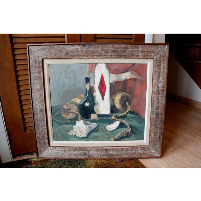 Still Life Oil Painting by Eileen Goodman For Sale - Image 10 of 10