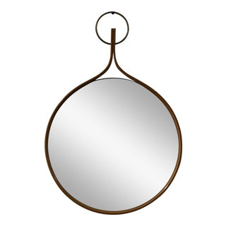 1955 Vintage Hans-Agne Jakobsson Wall Mirror For Sale
