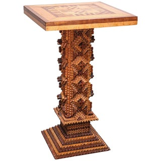 Early 20th Century Folk Art Table For Sale