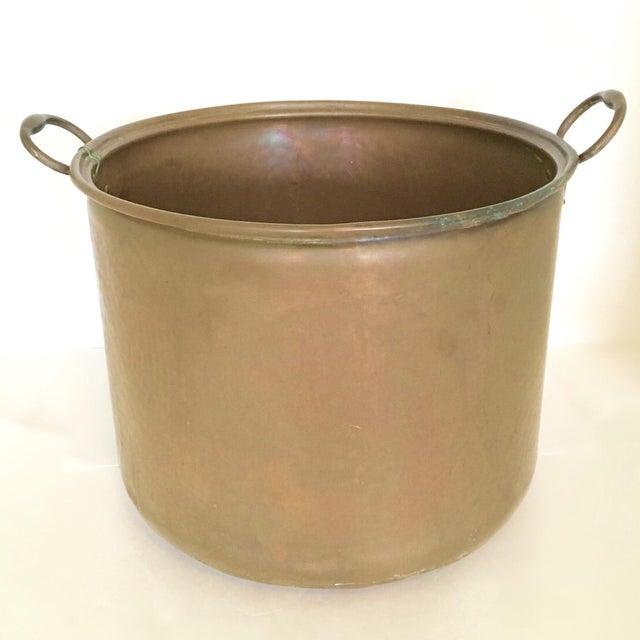 Vintage Rustic Copper Pot - Image 2 of 7