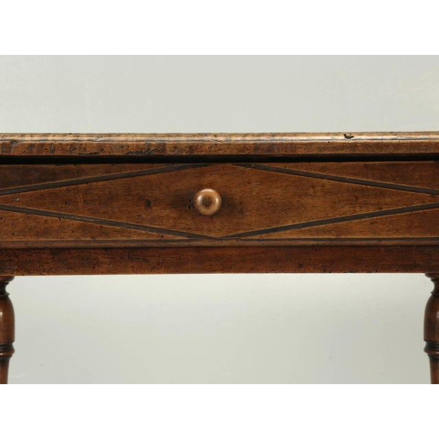 Antique Country French Side or End Table From the Early 1700s For Sale In Chicago - Image 6 of 10