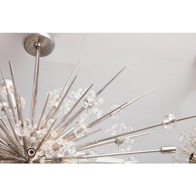 Transparent Custom Austrian Crystal Spiked Sputnik For Sale - Image 8 of 10