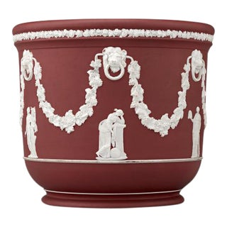 Wedgwood Crimson Jasper Jardinière get Complete Item For Sale