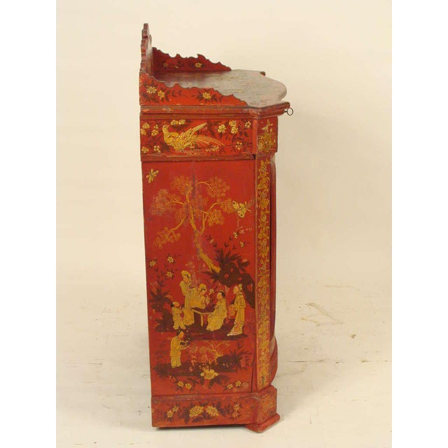 Chinoiserie Decorated Cabinet - Image 3 of 10