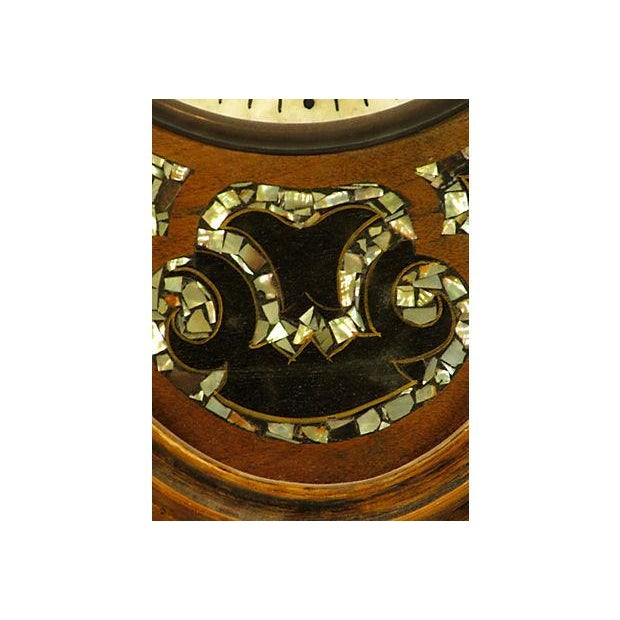 French 19th-Century Antique French Shop Clock For Sale - Image 3 of 5