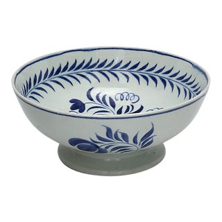 C. 1780 English Pearlware Bowl For Sale