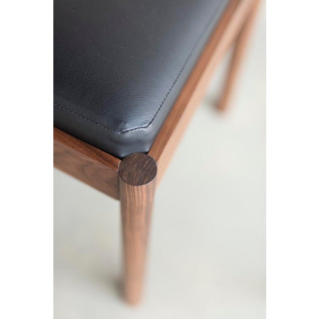 Feast Side Chair in Walnut For Sale In New York - Image 6 of 7
