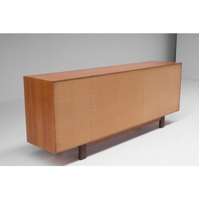 Modernist Sideboard With Perignem Ceramic and Macassar Details For Sale - Image 4 of 12
