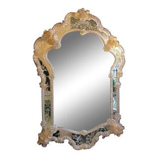 Mid 20th Century Venetian Mirror For Sale