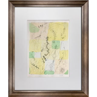"Paul Klee Color ""Insekten"" Lithograph For Sale"