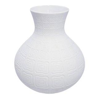 Vintage Edelstein German Bisque Porcelain Vase For Sale