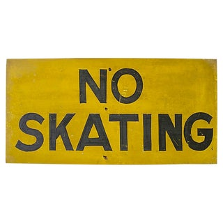 No Skating Sign For Sale