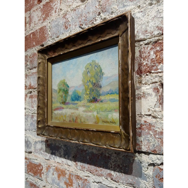 Maurice Braun - Study of a California Landscape -Oil Painting For Sale In Los Angeles - Image 6 of 8