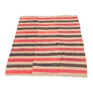Nomadic Antique Kilim Rug For Sale