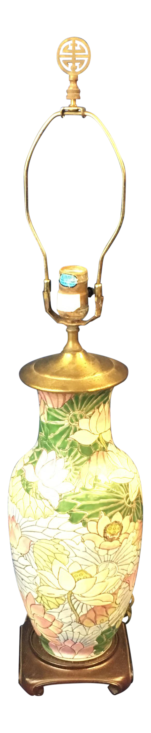 Vintage Lily Table Lamp For Sale
