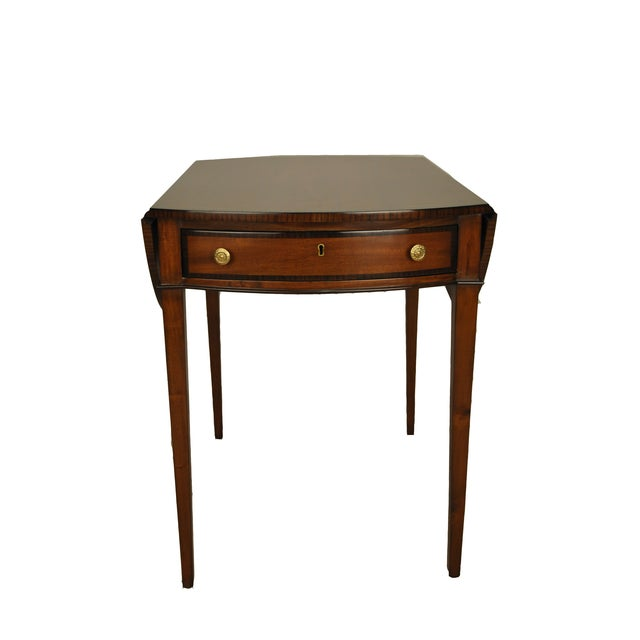 George III Drop-Leaf Pembroke Side Table - Image 2 of 4