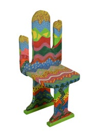 Image of Folk Art Side Chairs