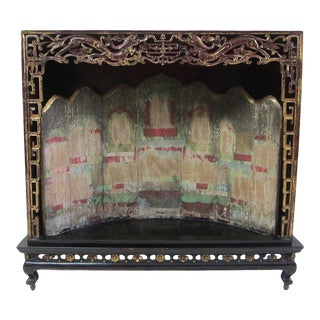 19th Century Chinese Shrine For Sale
