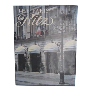 "Vintage ""The Paris Ritz"" History Book"