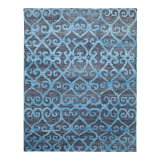 Mandala Collection - Customizable Adriatic Rug (10x14) For Sale