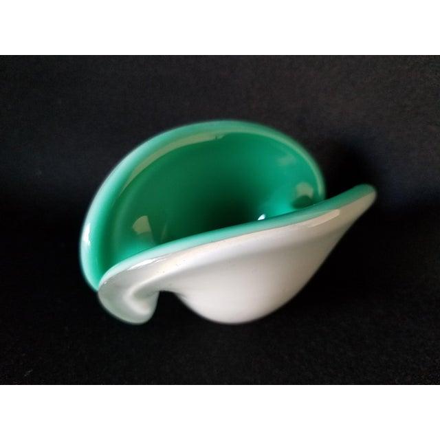 Toso Murano Clamshell Ashtray / Decorative Bowl - Image 2 of 8