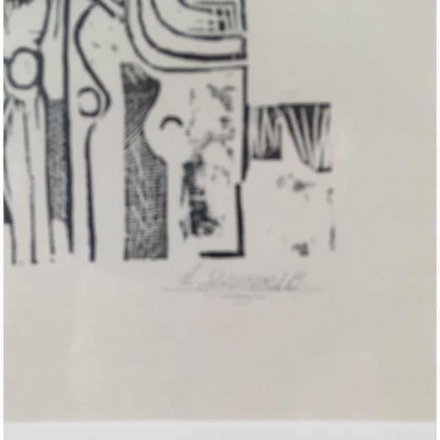 South American Etching on Paper For Sale - Image 4 of 8