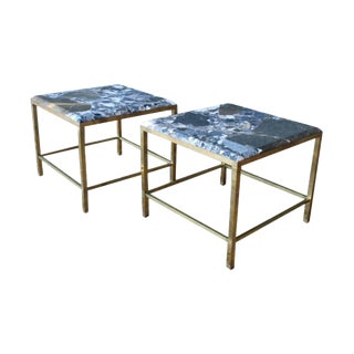 Maison Jansen France Brass Tables - a Pair For Sale