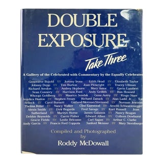 Double Exposure Take 3 Book by Roddy Mcdowall For Sale