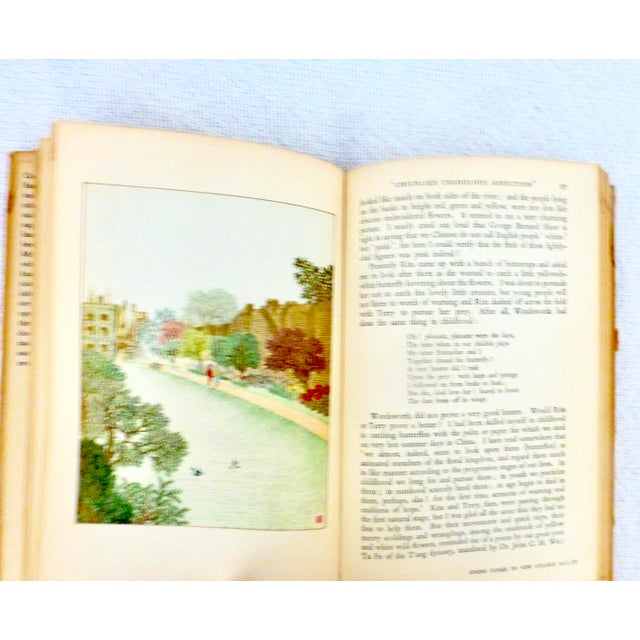 "1950 ""The Silent Traveller in Oxford"" Travel Book For Sale In Los Angeles - Image 6 of 8"