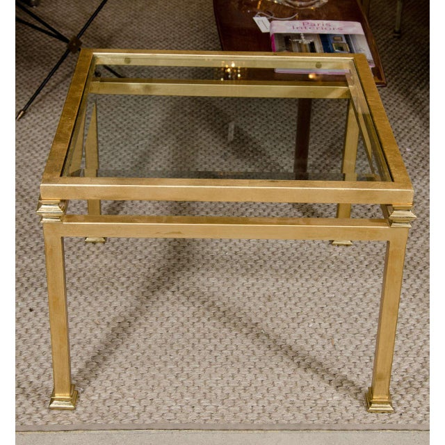 Pair of Gilt Iron Side Tables - Image 7 of 8