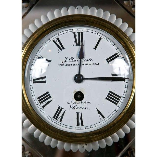 Venetian Glass Mirrored Clock - Image 3 of 7