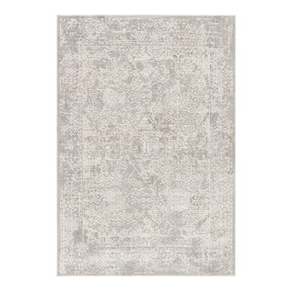 Jaipur Living Lianna Abstract Gray White Area Rug 10'X14' For Sale