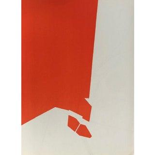 1970 Derriere Le Miroir Pablo Palazuelo Original Lithograph DM04184 For Sale