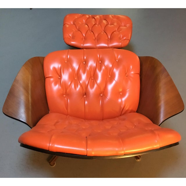 1960's PlyCraft Lounge Chair & Ottoman - Image 6 of 10