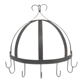 Iron Dome Hanging Utensil Rack For Sale