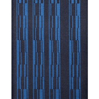 Architex Progress in Beluga Charcoal & Blue - 25.5 Yards