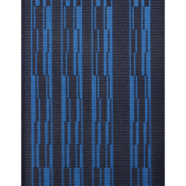 Architex Progress in Beluga Charcoal & Blue - 25.5 Yards For Sale