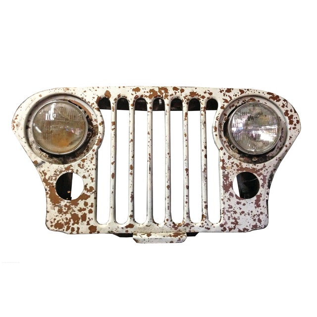 Vintage Willy's Jeep Grill - Image 1 of 3
