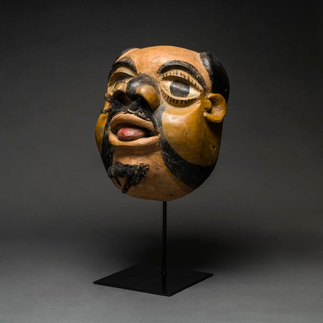 Masks are unique in the world of art in their expression of complex emotions directly related to a particular event. A...