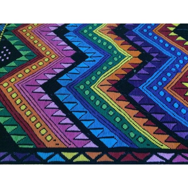Vintage Guatemalan Textile For Sale - Image 7 of 7